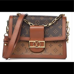 Vintage Louis VuittonShoulder Dauphine #37275